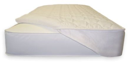 Quilted PLA Non-waterproof Mattress Pad W Straps.