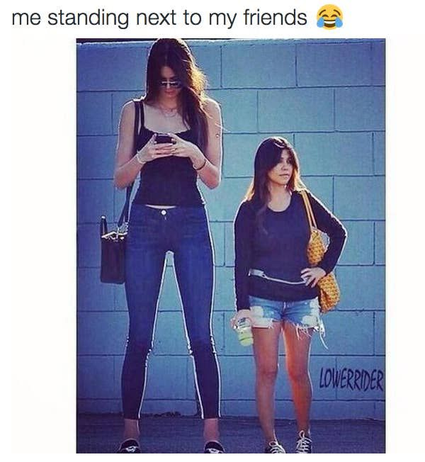23 Pictures People Over 5 5 Will Never Understand Kendall And Kourtney Kendall Jenner Height Kendall Jenner Street Style