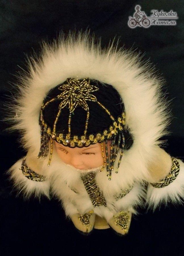 Кукла в ненецком женском народном костюме   Тряпичные ...