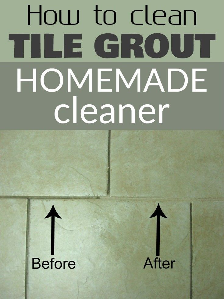 homemade clean tile grout and how to clean tiles