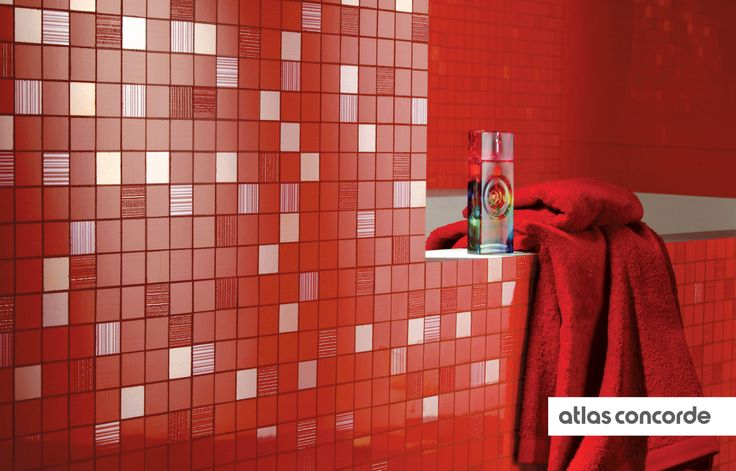 #ADORE flame | #Mosaic | #AtlasConcorde | #Tiles | #Ceramic