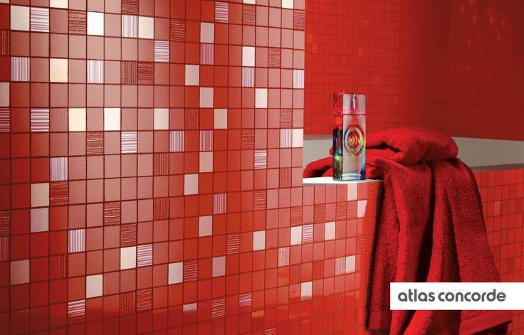 #ADORE flame | #Mosaic | #AtlasConcorde | #Tiles | #Ceramic