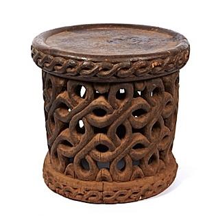 safari style furniture. vintage african stool safari style furniture