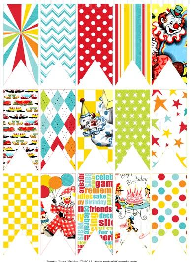 circus patterns printable - photo #4