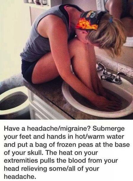 18 Natural Migraine Plus Headache RemediesPositiveMed | Positive Vibrations in Health