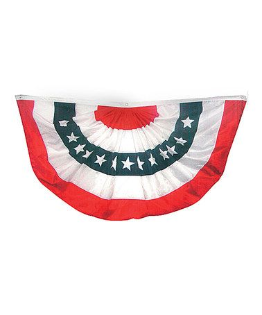 Another great find on #zulily! Large American Flag Bunting #zulilyfinds