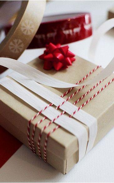 M s de 25 ideas fant sticas sobre envoltura de regalos de - Como envolver regalos de navidad originales ...