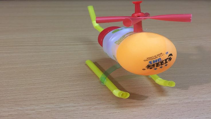 How to make a Toy Helicopter using plastic bottle   The q tube ✔ #theq #theqtube #howtomake #toyhelicopter