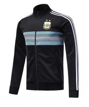 Argentina 2018 Away Black Football Jacket [L590]