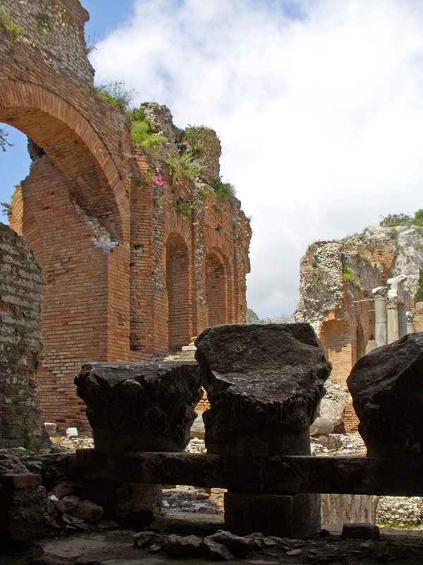 The ancient theatre at Taormina
