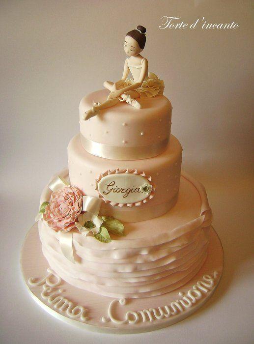 """La ballerina"" - by Tortedincanto @ CakesDecor.com - cake decorating website"