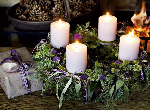 562 besten adventskranz bilder auf pinterest weihnachten - Adventskranz englisch ...