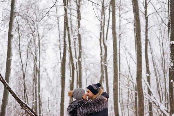 Зимняя прогулка Руслана и Ирины. Свадебная история от 2 февраля. Фотограф Альберт Сафиуллин, Санкт-Петербург, Россия