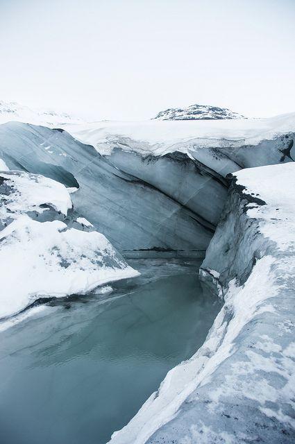 Iceland - Sólheimajökull Glacier. //