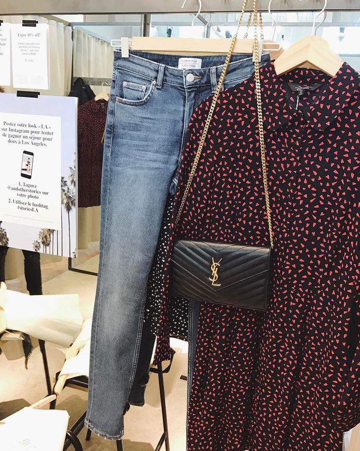 """Polubienia: 3,951, komentarze: 27 – Created by Katarzyna Tusk (@makelifeeasier_pl) na Instagramie: """"Blue jeans & dots - neverending spring story /// Niebieskie dżinsy i kropki, czyli wiosenne trendy,…"""""""