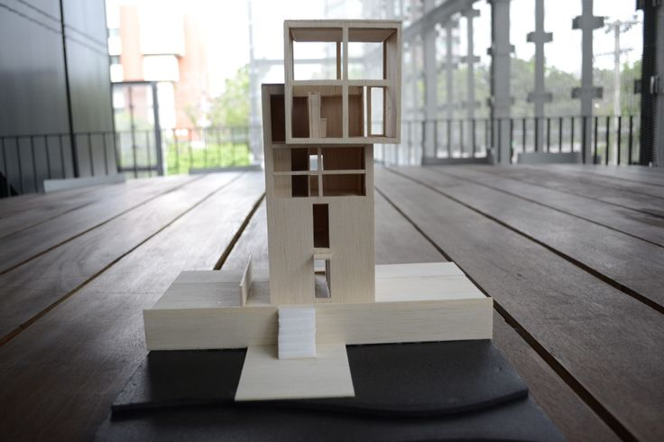 4x4 House - Tadao Ando Model scale 1:50