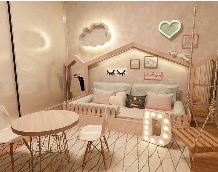 A proposta da @berthafcarvalho para o quarto da menina !