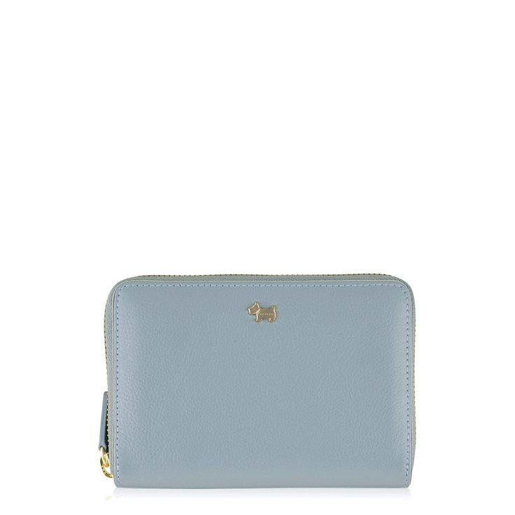 The Blair leather zip purse features a sleek, classic design, ideal for everyday use.