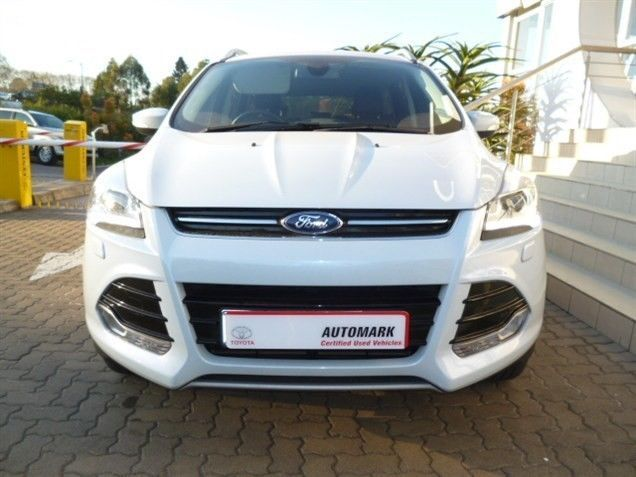 A Fantastic Buy! Make Sure You Get this Classy and Unique SUV, 2013 #Ford #Kuga 1.6 EcoBoost Titanium AWD. White in colour and possesses a Wonderful 1.6 Petrol Engine. Be on the Go with it's All-Wheel Drive System, with a Low Mileage of Just 25 200Kms, Priced R335 990. Extra's: ABS / Adaptive Headlights / Air Conditioner / Alarm / CD Front Loader  +More.  Contact Keith Rabilal Now on 082 323 1303 / 031 737 1500 or Email keithr@smg.co.za. Like Us…