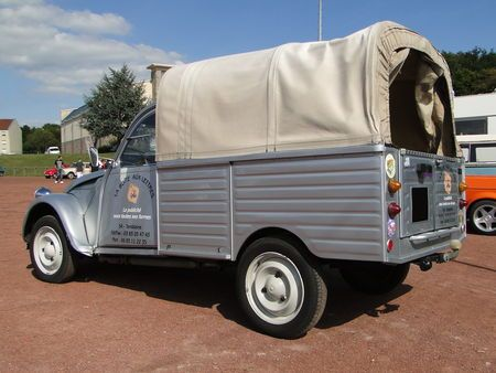 CITROEN 2 CV Pickup Bache Bourse de Crehange 2009 2