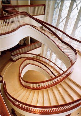 San Diego, California Temple Spiral Staircase