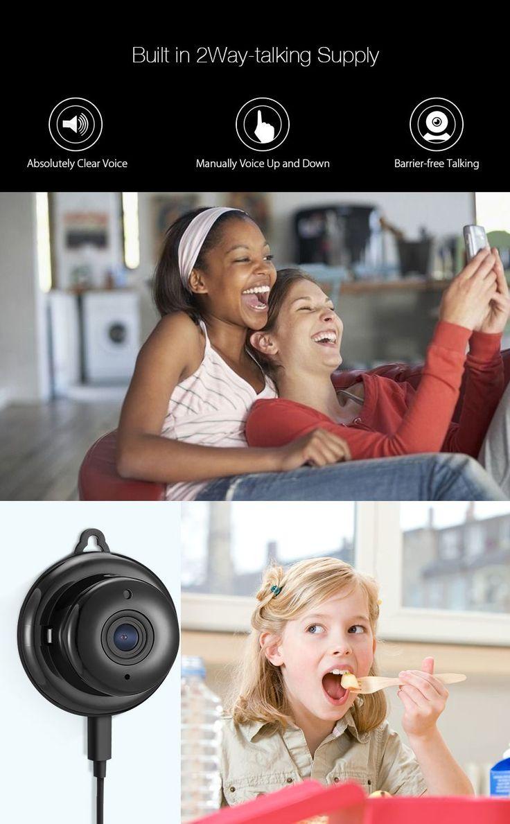 Digoo DG-M1Q 960P 2.8mm Wireless Mini WIFI Night Vision Smart Home Security IP Camera Onvif Monitor