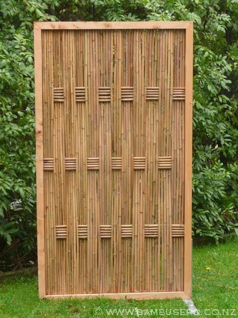 Puerta de bambú                                                       …