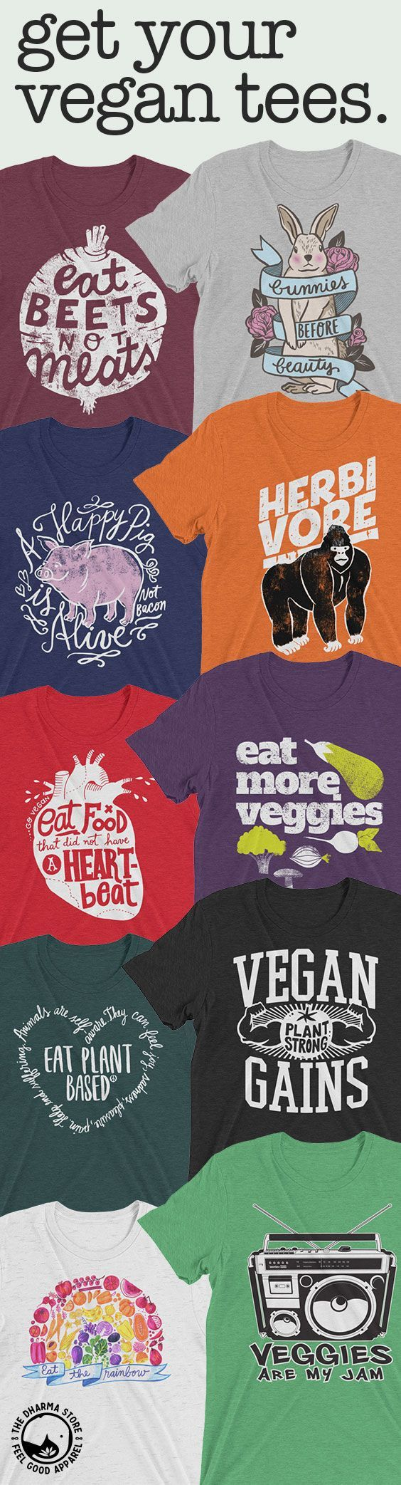 The best #veganshirt selection, hundreds of awesome #vegantshirt designs  from our #veganclothing