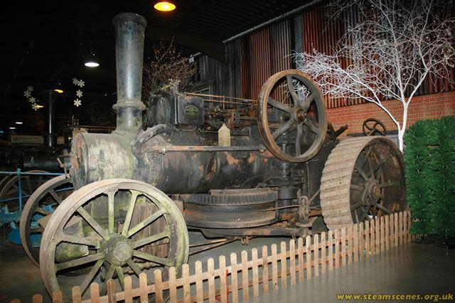 """Aveling & Porter Ploughing Engine, 8891 """"General Byng"""", DO 1944 - Steam Scenes"""