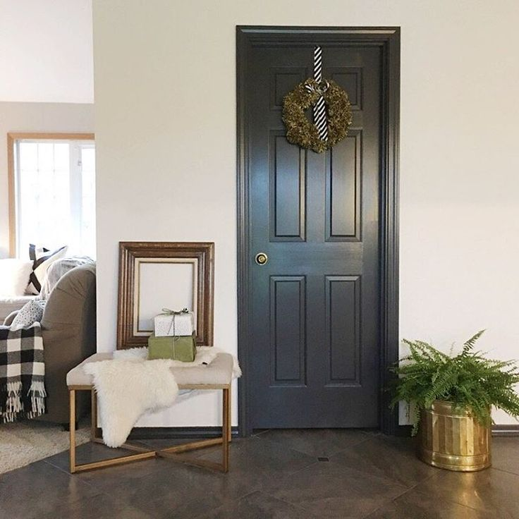The Incremental Changes (like Painting The Orangy Wood Doors And Trim  Charcoal) Are Making A Big Difference Around Here. Sources: Wall Paint   SW  Shoji ...