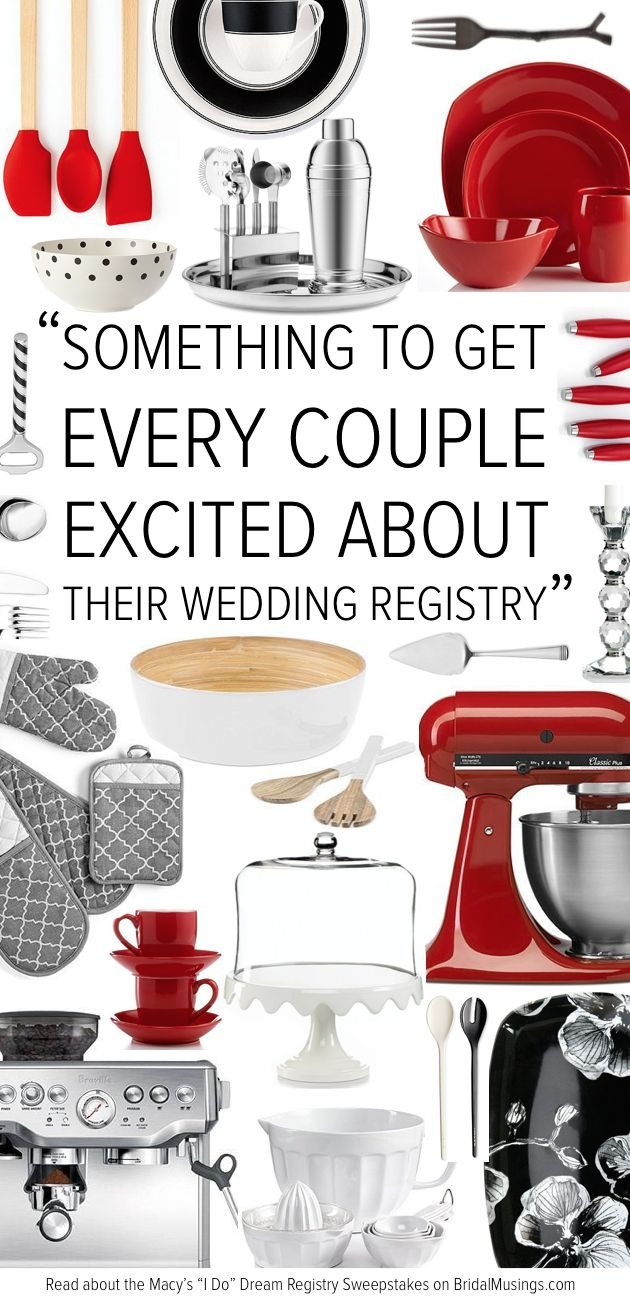 Ideas For Wedding Gift Registry : ... registry sweepstakes wedding registry ideas bridal registry wedding