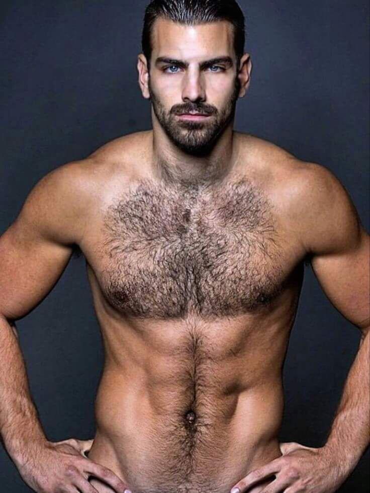 Hairy Top Model