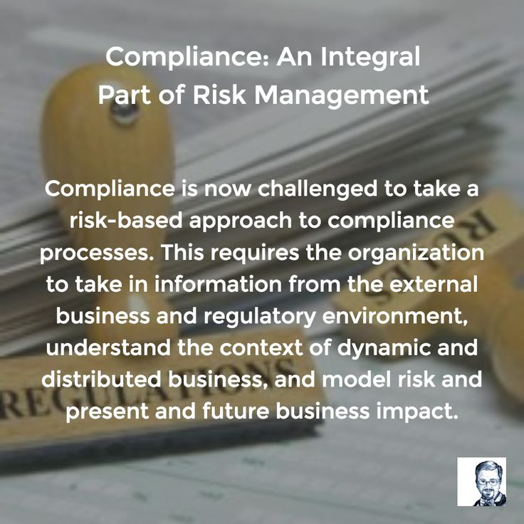 Compliance is now challenged to take a risk-based approach to compliance processes. This requires the organization to take in information from the external business and regulatory environment, understand the context of dynamic and distributed business, and model risk and present and future business impact.