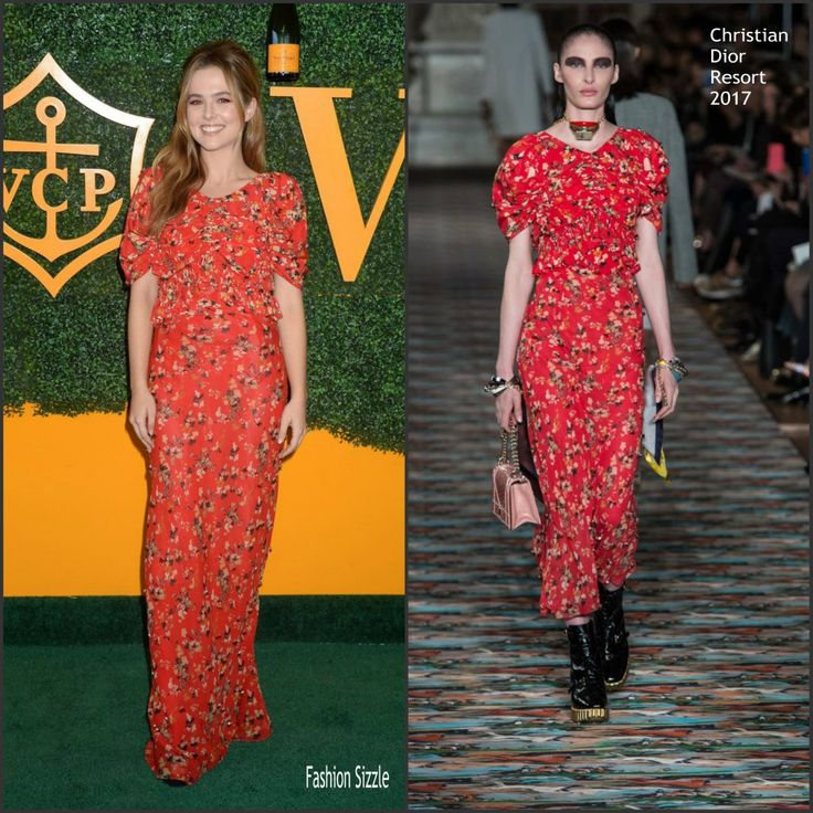 Zoey Deutch In Christian Dior  At The 7th  Veuve Clicquot  Polo Classic LA - FASHION SIZZLE