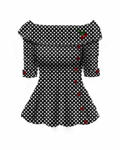 Blueberry Hill Fashions : Rockabilly Retro Button Cherry Top......i LOve ima dying
