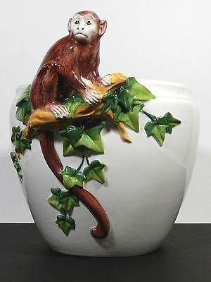 Italian Monkey Planter Vase Grosselle Italy