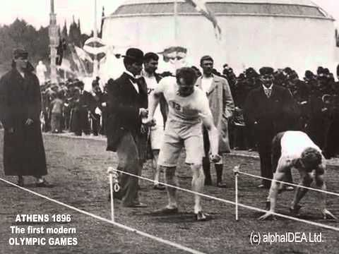 Athens 1896 Olympic Games - YouTube