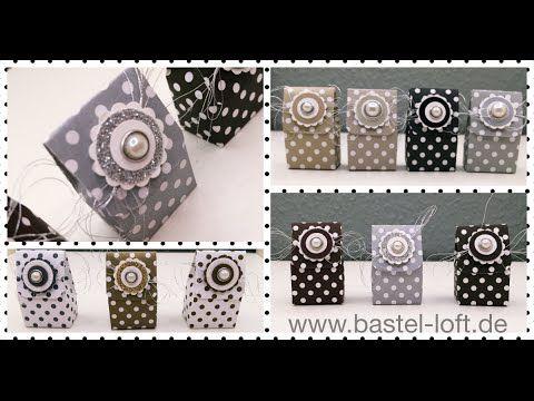 5 Minuten Goodie - Mini-Osterei-Verpackung (auch für jeden anderen Anlass) - Bastel-Loft