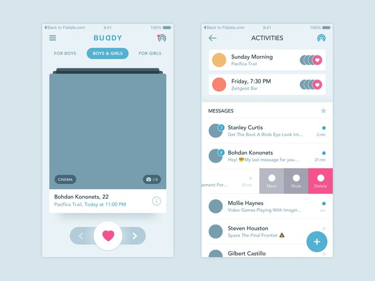 Hey Friends!   Today we want to show you an app wireframe we are working on now for our friends from San Francisco.  We are a studio that likes to help and create projects not only for big gamer...