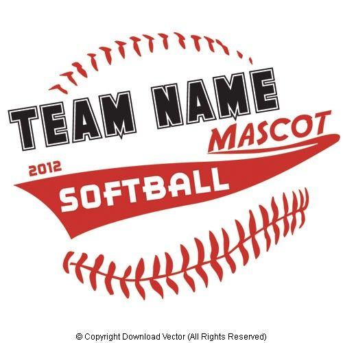 softball t shirt design vector eps available to download instantly - Softball Jersey Design Ideas