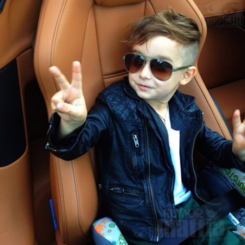 27 Stylish And Cute Babies. I did this haircut not to long ago on little boy and it was actually really cute