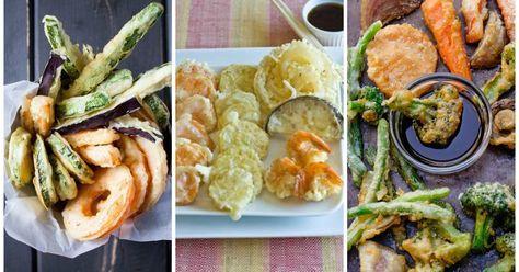 TEMPURA di ZUCCHINE: la ricetta giapponese originale