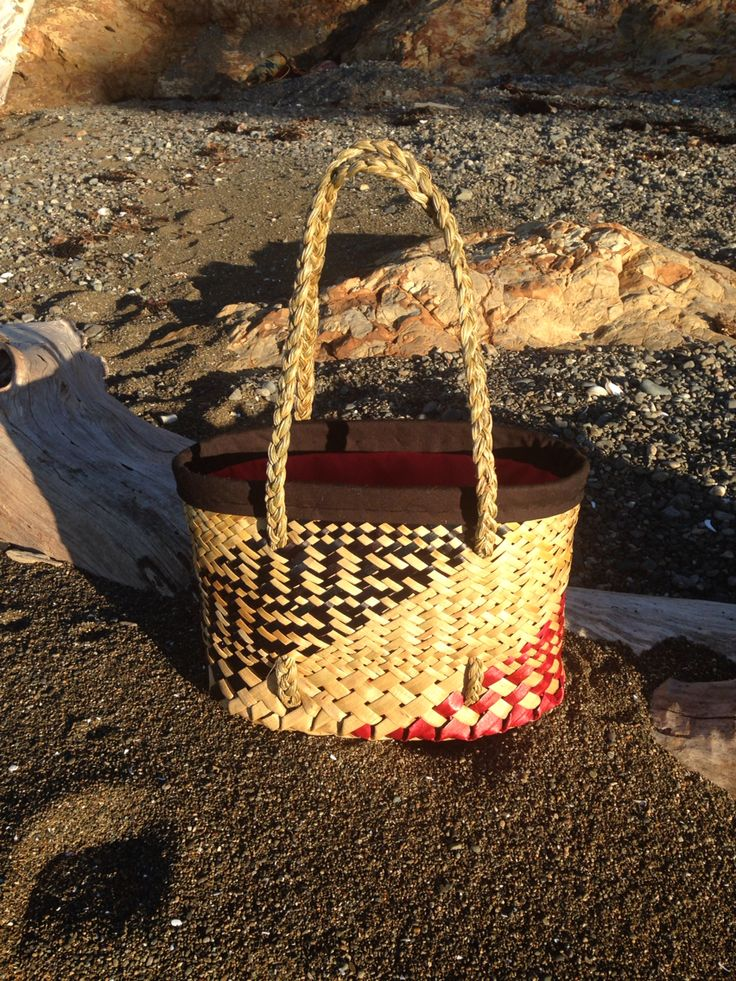 Red and black Kete
