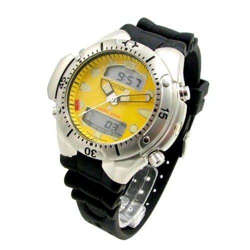 JP1060-01X Relógio Citizen Aqualand II Profundímetro. Temos todas as cores. Tudo até 12x sem juros. Visite nosso site: https://e-presentes.com.br