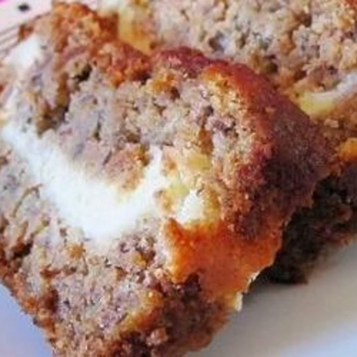 Aunt Lynda's Cream Cheese filled Banana Bread | When sliced, this makes a great presentation, and a delicious different banana bread with a cream cheese center.