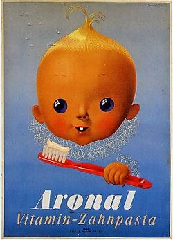 Affiche de Donald Brun 1947
