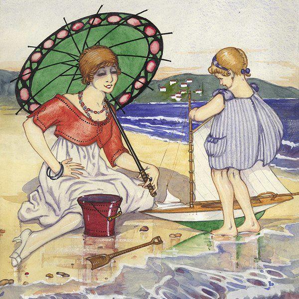 Ilustración, por José Loygorri (1917)
