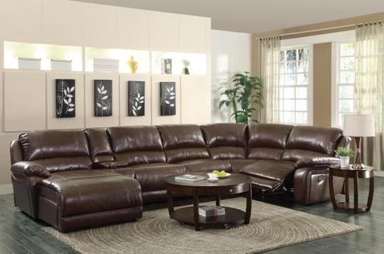 Dallas Furniture Store – Living Room 600357 6PC SECTIONAL – Reclining sectional