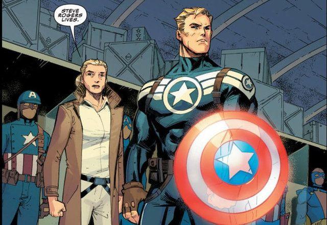 Captain America No More Redacted Returns In Captain America 12 Spoilers Captain America Marvel Captain America Captain America Super Soldier