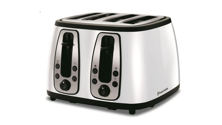 Russell Hobbs Heritage 4 Slice Toaster - White
